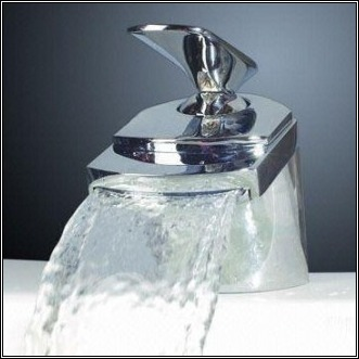 Waterfall Faucet - Chrome