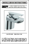 Strohm Luxury Chrome Waterfall Faucet