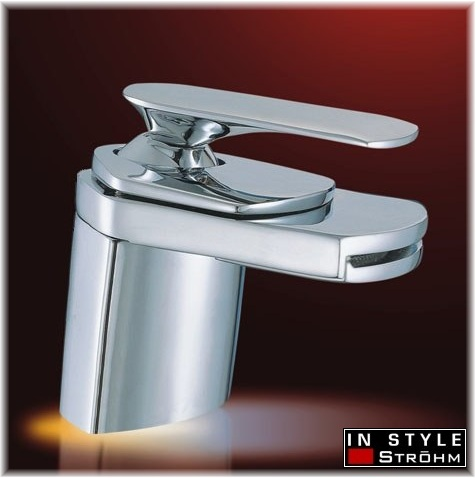Luxury Chrome Waterfall Faucet